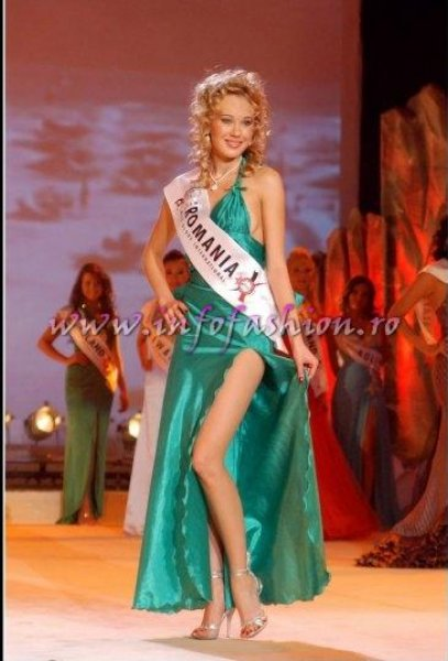 Izabella_Sebestyen 2007 de la Festival Valea Prahovei in TOP 10 la Miss Globe International ed 36 prin InfoFashion Platinum Ag