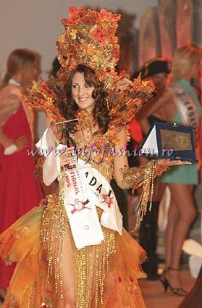 Canada, Stefania Cerbino, Best National Costume Miss Globe International Albania 2007