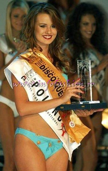 Poland, Ewa Wasilewska, Miss Disco Queen Miss Globe International Albania 2007