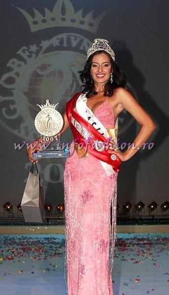 Brazil, Helen Cristina Alves Da Silva, WINNER of Miss Globe International Albania 2007