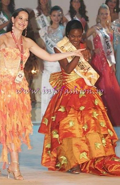 Nigeria Jane Ogbe, Miss Cosmopolitan Miss Globe International Albania 2007