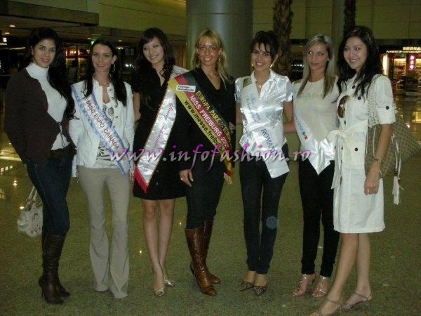 First destination of Miss Young International 2007: Taichung