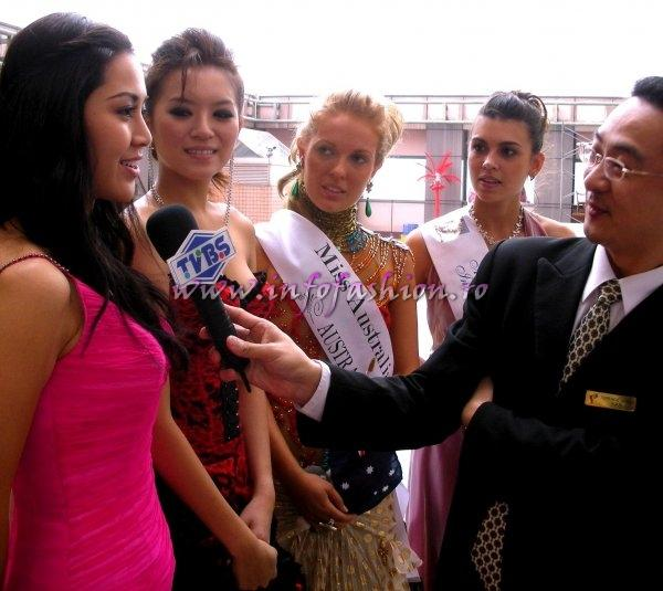 First destination of Miss Young International 2007: Taichung, Hotel Splendor