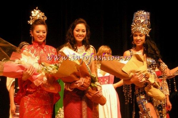 Taiwan_2007 Miss Young International Best National Costume: Winner Thailand, 1st r- Taiwan & 2nd r- Ecuador