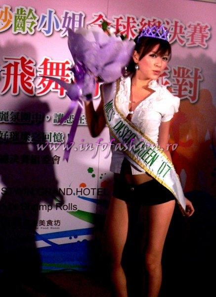 Taiwan_2007 Miss Young International Miss Disco Queen from Taiwan, Lin Yen Chin at Justwin Grand Hotel Tainan