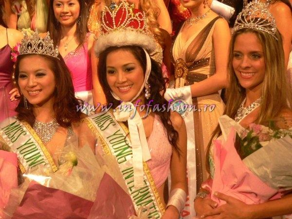 Thailand_Vasana Wongbuntree The WINNER of Miss Young International Final in Taiwan 2007