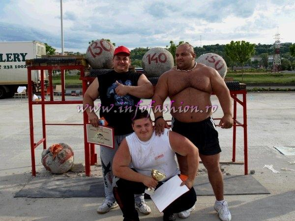 `MIEZUL ZILEI` TVR1 World Strongman Tour in Romania. Oana Georgescu prezinta pe Mikael Fredholm, Vice Presedinte World Strong Man Super Series GRAND PRIX Who`sWho_FP