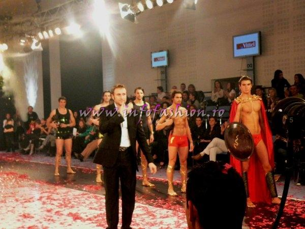 B_&_Designeri_Catalin Botezatu lenjerie barbati Colectia `Spartani` lingerie men`s underwear la Bucharest Fashion Week 23 NOV. /Pow Infofashion Platinum Ag