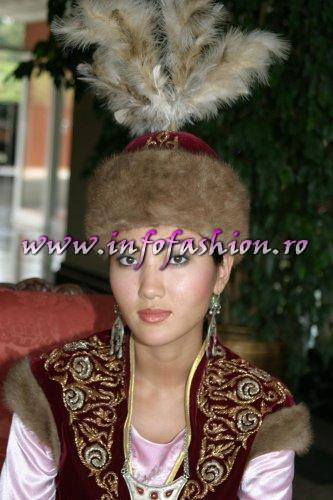 Kazakhstan- BAKYTGUL KULSEITOVA at Model of the Universe & Miss Bikini World 2005 in Turkey
