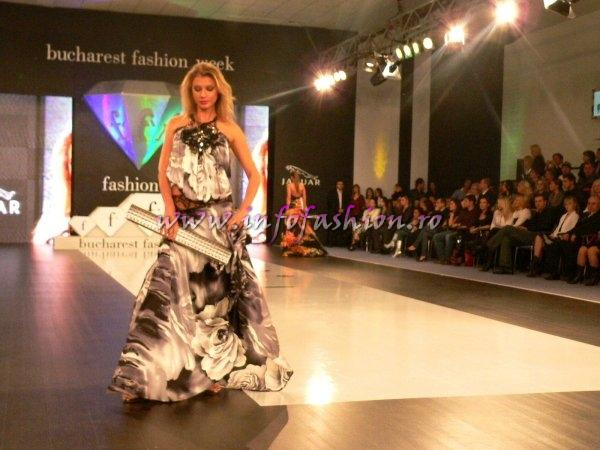 Laura Olteanu & Mihai Albu haute couture la Bucharest Fashion Week NOV. 2007
