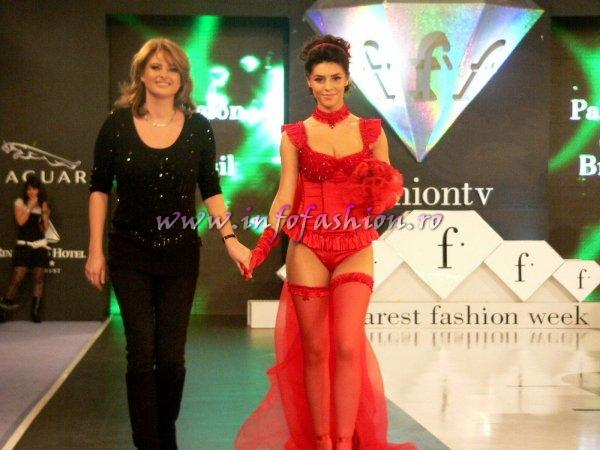 L_&_ Designeri Lenjerie /Lingerie Passion du Brasil lenjerie la Bucharest Fashion Week /Posted Infofashion Platinum Ag