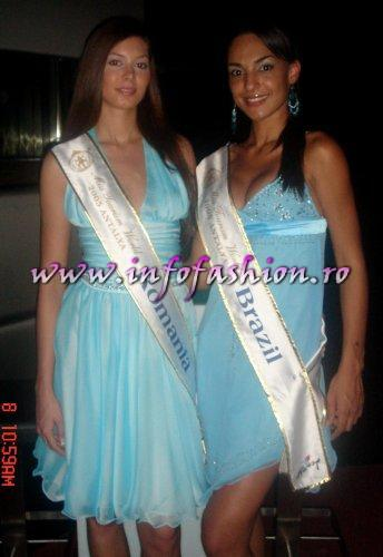 In Turkey 2005 Cristiane Biazioli, Brazil MISS BIKINI WORLD & Catalina Iancu, Romania won MODEL OF THE UNIVERSE