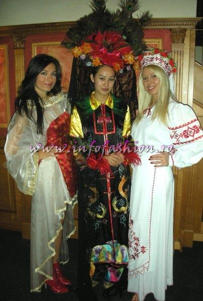 China PR- YULAN LI, QUEEN OF NATIONAL COSTUME at QUEEN OF THE WORLD 2007