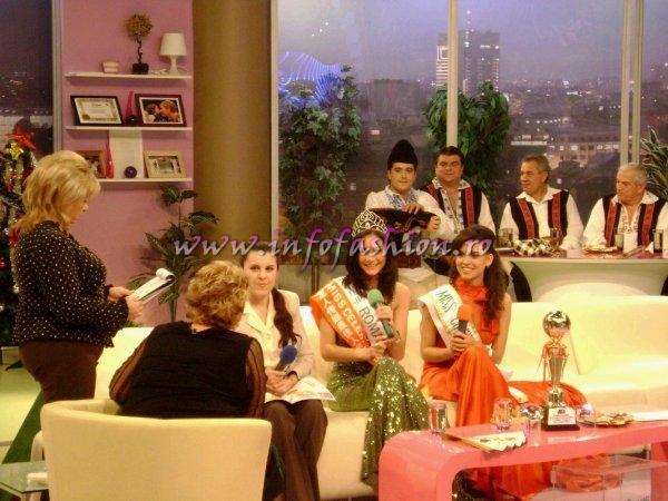 Press_2007 Romania about Taiwan Miss Young International. Special correspondents: Camelia Seceleanu & Oana Georgescu