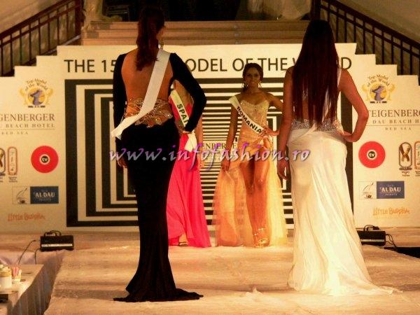 Laurette Atindehou are adversare redutabile la Top Model of the World 2008 Egipt din Belarus, Brazilia, Serbia, Polonia, Columbia, Venezuela