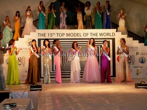 Laurette Atindehou are adversare redutabile la Top Model of the World 2008 Egipt din Belarus, Brazilia, Serbia, Polonia, Columbia, Venezuela, etc