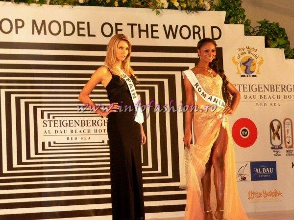 E_&_ Designeri Ersa Atelier- Evening Gown for Laurette Atindehou in TOP 10 at Top Model of the World in Egypt /InfoFashion Platinum Ag L_178CM