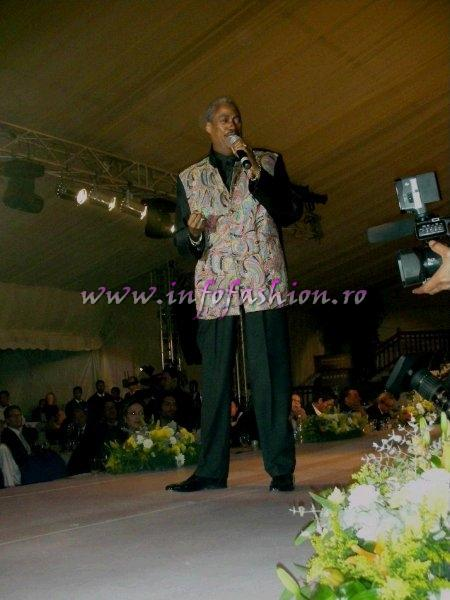 Keith Tynes (Ex- Platters), international Singer from Miami at Top Model of the World 2007 Egypt