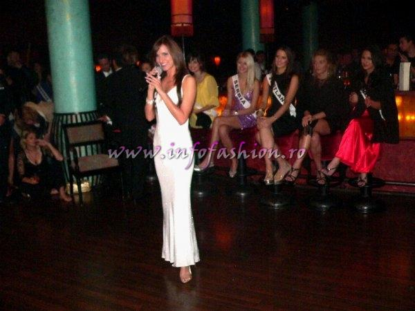 Cuba Marlyn Sanchez won Talent Competition in Buddha Bar Hurghada at Top Model of the World 2007