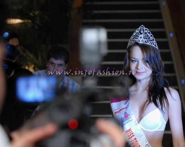Sorina Neacsu, titlul MISS TOURISM METROPOLITAN INTERNATIONAL 2007-2008 in Malaezia