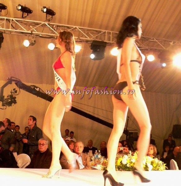 Top Model of the World 2007 Egypt, Swimsuit Collection Presentation