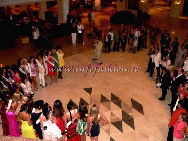 All Talentet Contestants at Little Buddha Hurghada Top Model of the World 2008