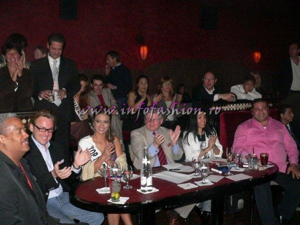 Jury of Talent Contest at Little Buddha Hurghada Top Model of the World 2008