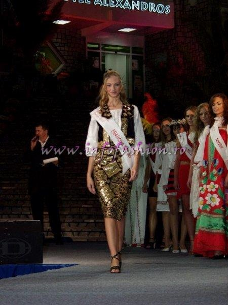 Madalina_Draghici 2003 Valea Prahovei (PH) la Miss Tourism Europe in Romania /Infofashion Platinum Ag M_177CM