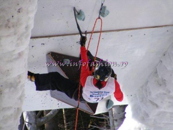 BUSTENI COMPETITION FOR ICE CLIMBING WORLD CUP 2008