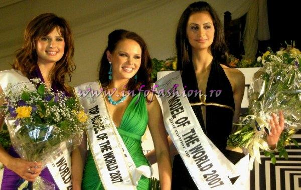 Germany- Alesandra Alores WINNER of Top Model of the World 2007 Egypt