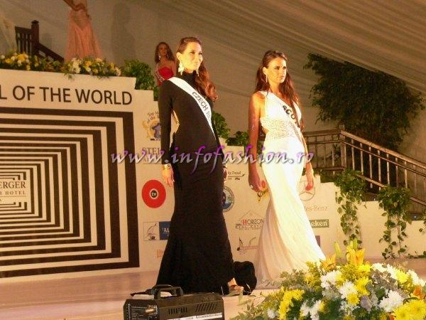 Scotland Claire Catteral at Top Model of the World 2007 Egypt, Steigenberger Al Dau Beach Hotel (18 JAN. 2008)
