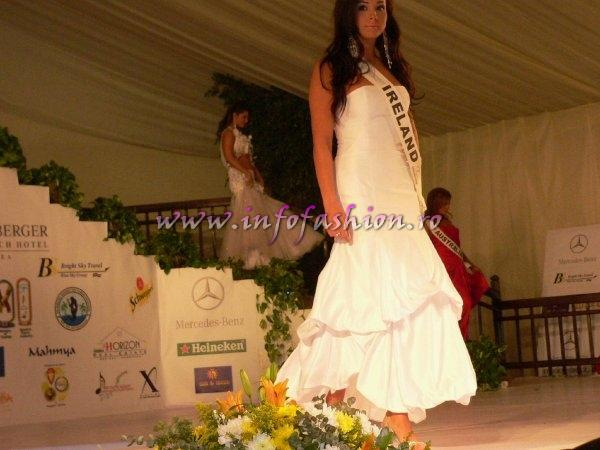 Ireland- Victoria Evans at Top Model of the World 2007 Egypt, Steigenberger Al Dau Beach Hotel (18 JAN. 2008)