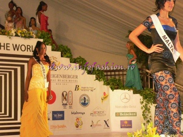 Malta- Diane Baldacchino at Top Model of the World 2007 Egypt, Steigenberger Al Dau Beach Hotel (18 JAN. 2008)