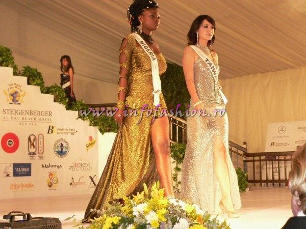 Nigeria- Lilian Obianuju at Top Model of the World 2007 Egypt, Steigenberger Al Dau Beach Hotel (18 JAN. 2008)