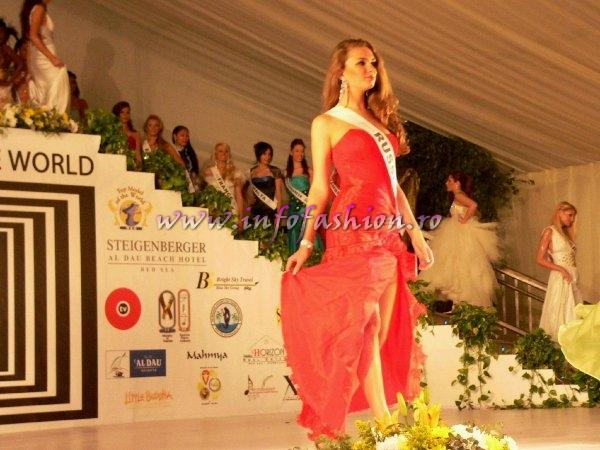 Russia- Olena Salnikova at Top Model of the World 2007 Egypt, Steigenberger Al Dau Beach Hotel (18 JAN. 2008)