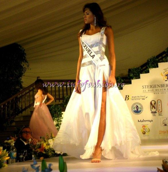 Venezuela- Anyelika Perez at Top Model of the World in Egypt, Steigenberger Al Dau Beach Hotel (18 JAN. 2008)