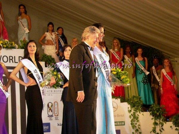 Venezuela Margarita Island- Kellyn Pena, PHOTOGENIC AWARD at Top Model of the World in Egypt (18 JAN. 2008)