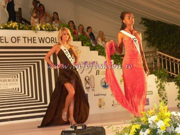 Zambia- Winfridah Mofu at Top Model of the World 2007 Egypt, Steigenberger Al Dau Beach Hotel (18 JAN. 2008)