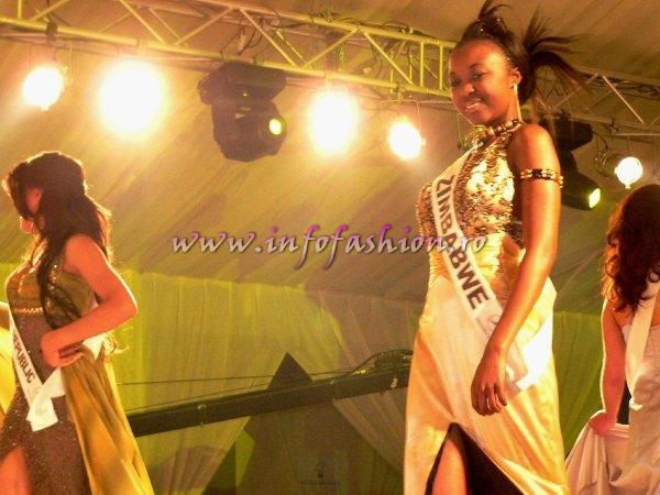 Zimbabwe- Ropofazdai Garis at Top Model of the World 2007 Egypt, Steigenberger Al Dau Beach Hotel (18 JAN. 2008)