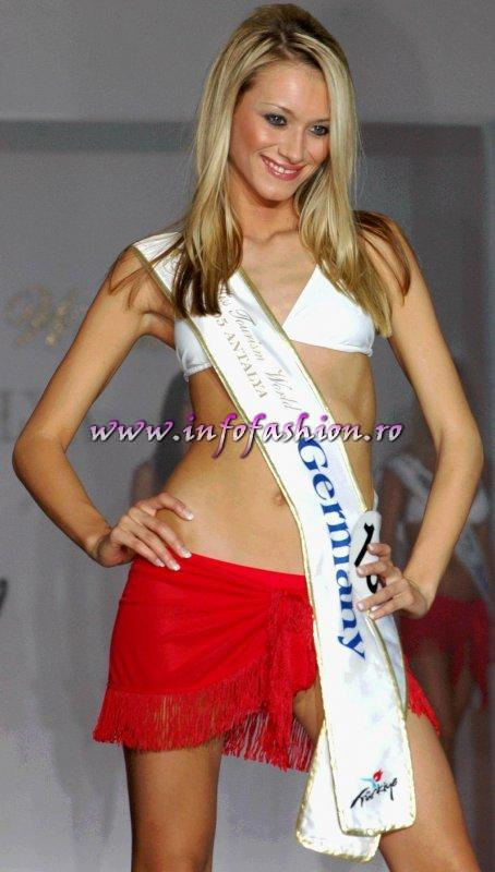 Germany at Model of the Universe & Miss Bikini World 2005 in Turkey