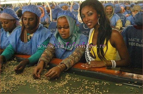 Ethiopia at Miss Tourism of the Millennium Pageant in Ethiopia 2007 (Credit: Alessandro Zanazzo, Italy)