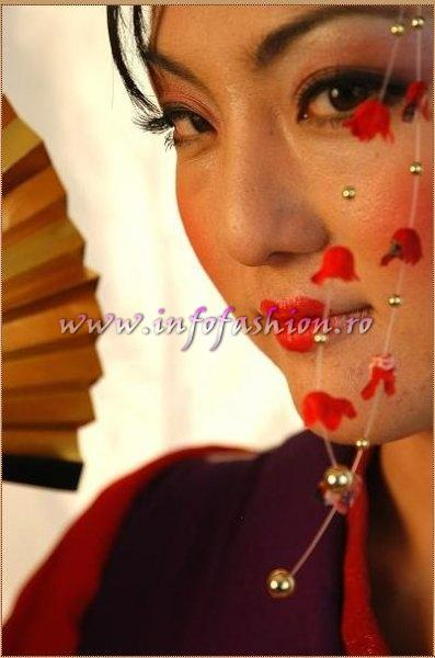 Japan at Miss Tourism of the Millennium Pageant in Ethiopia 2007 (Credit: Alessandro Zanazzo, Italy)