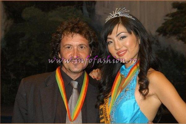 Japan and and Alessandro ZanazzoThe Photographer at Miss Tourism of the Millennium Pageant in Ethiopia 2007 (Credit: Alessandro Zanazzo, Italy)