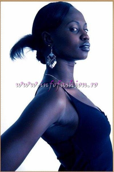 Sudan at Miss Tourism of the Millennium Pageant in Ethiopia 2007 (Credit: Alessandro Zanazzo, Italy)