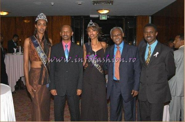 The Ethiopia organizers of the event and the Missis