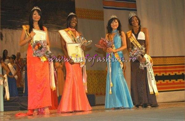Winners of Miss Tourism of the Millennium Pageant in Ethiopia 2007 (Credit: Alessandro Zanazzo, Italy)