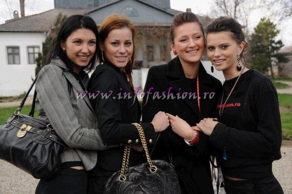 Romania Vizita la Muzeul Golesti a concurentelor la Top Model of The World Romania si Miss Intercontinental Romania, 24-30 Martie 2008