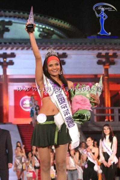 India_2008 Devyani Mandavgane is Miss Disco Queen of the World at Miss Tourism Queen International in China 2008