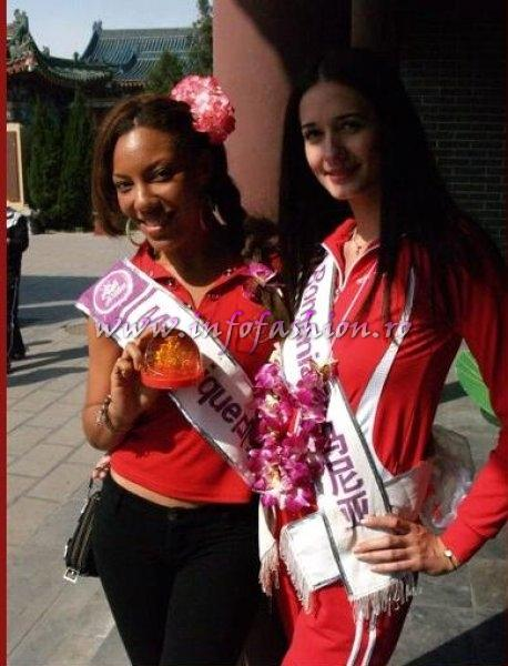 Martinique_2008 Clara ESTARQUE at Miss Tourism Queen International in China 2008