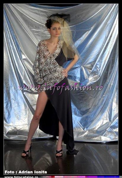 Georgiana_Surdu la Top Model of The World si Miss Intercontinental Romania, Pitesti 2008 InfoFashion Platinum Ag
